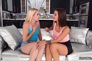 lesbische knip HD